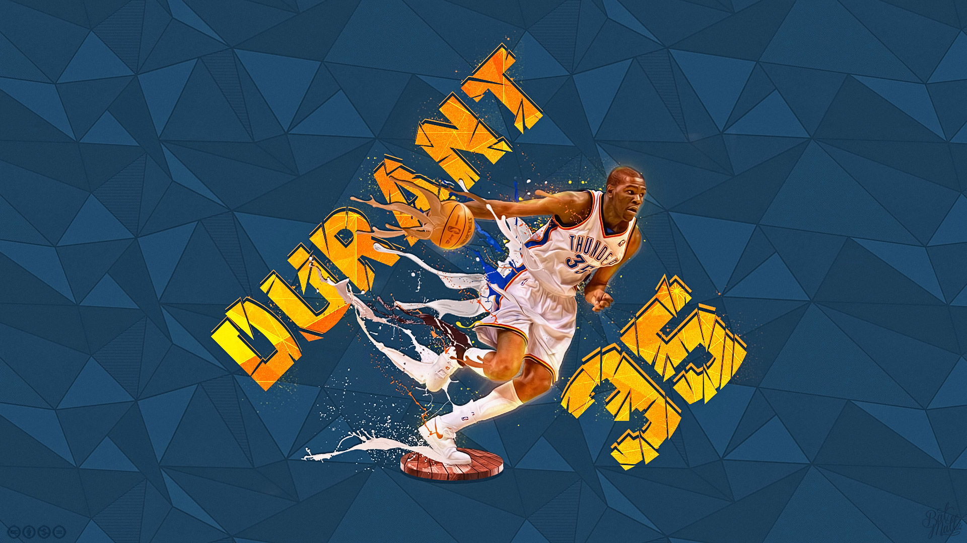 Kevin Durant Hd Wallpaper Background Image 1920x1080