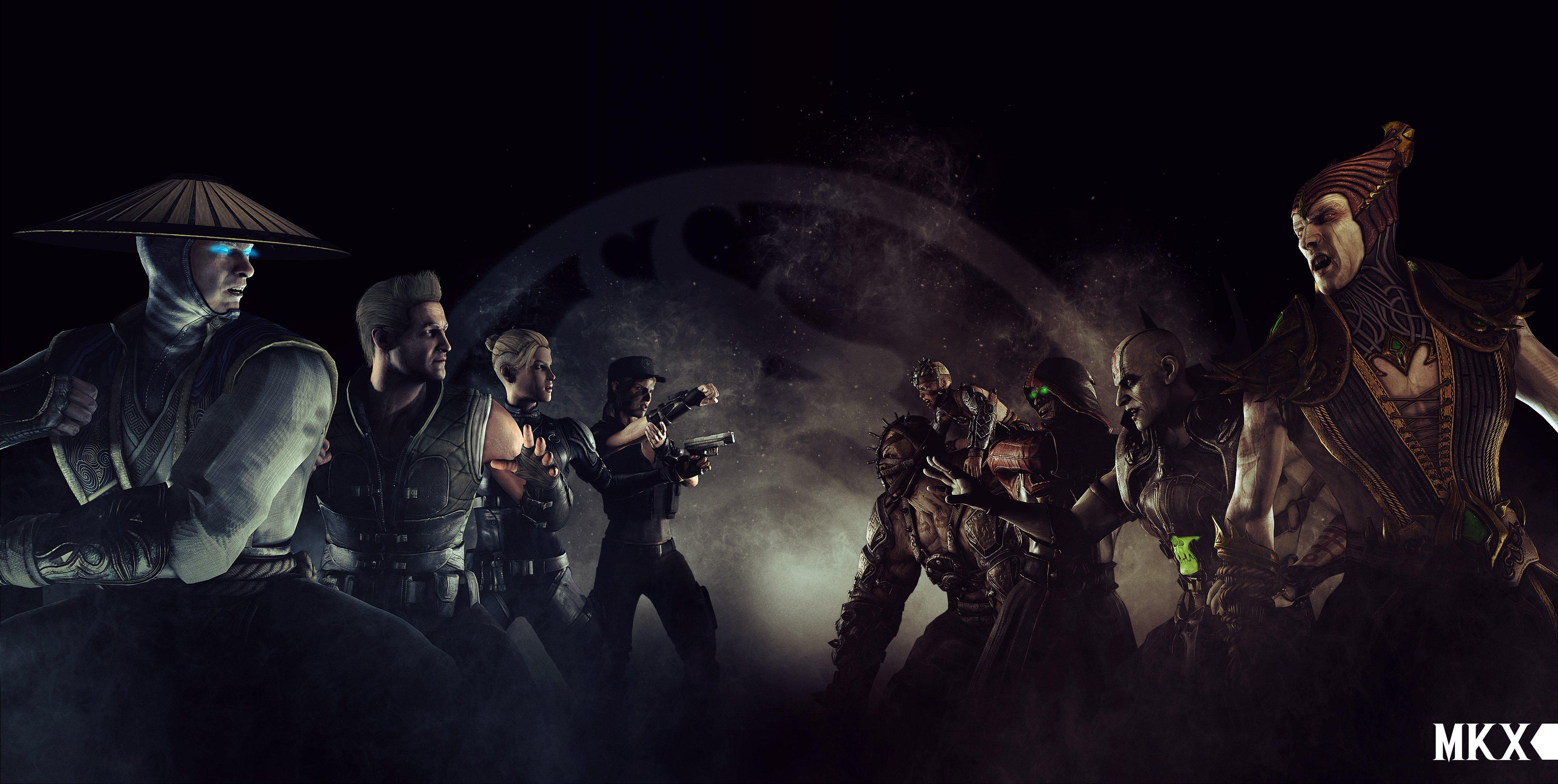 Mortal Kombat X Hd Wallpaper Background Image 3974x2000