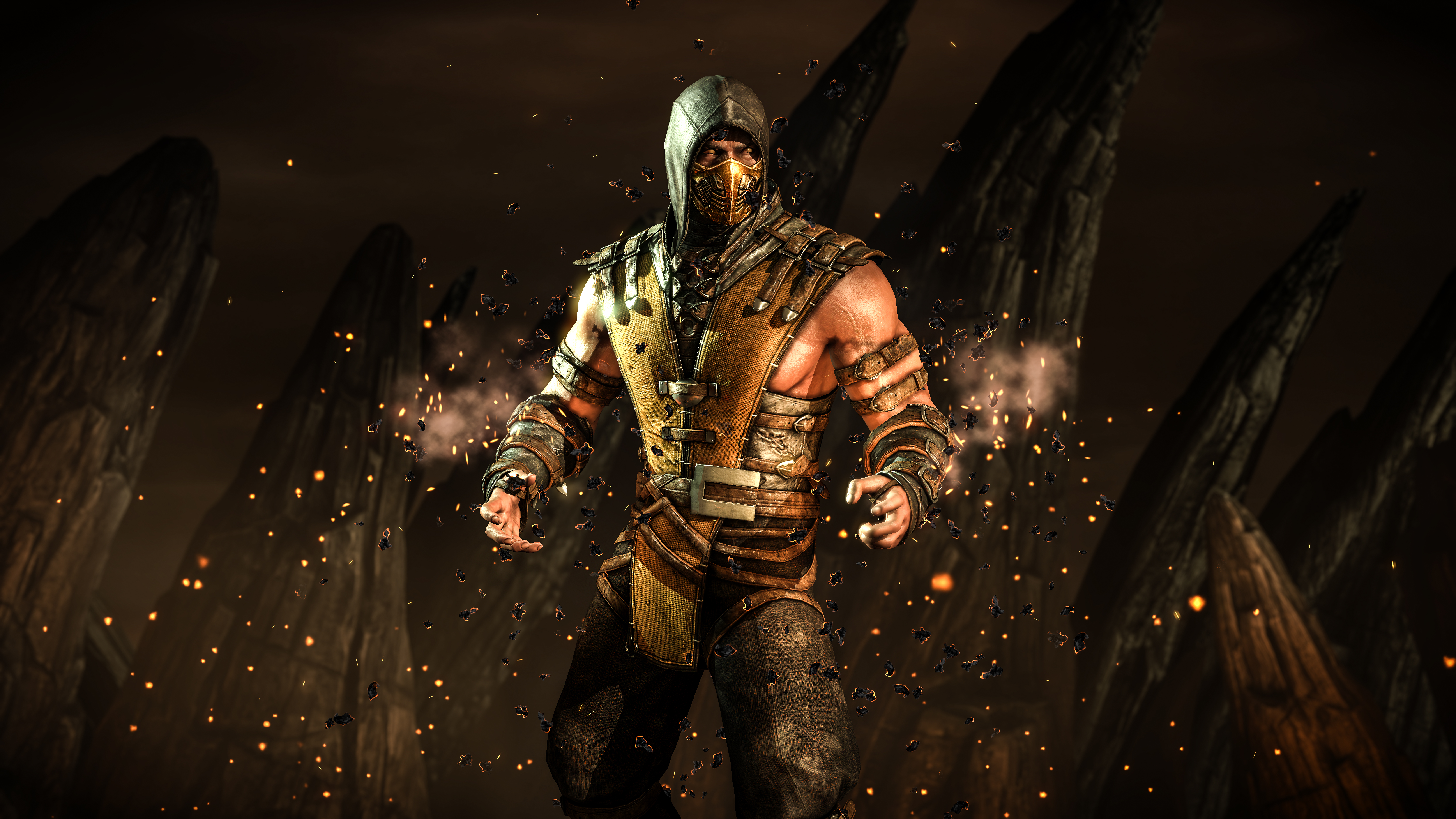 Mortal Kombat X 5k Retina Ultra Hd Wallpaper Hintergrund