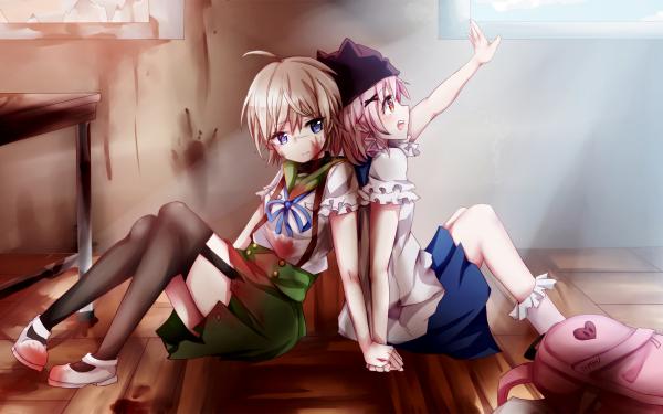 Anime School-Live! Yuki Takeya Kurumi Ebisuzawa HD Wallpaper | Background Image