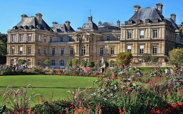 Man Made Luxembourg Palace Palaces France Palace Paris Garden HD Wallpaper   Background Image
