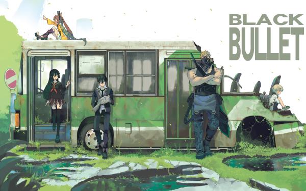 Anime Black Bullet Enju Aihara Shougen Ikuma Rentaro Satomi Kayo Senju Kisara Tendo HD Wallpaper | Background Image