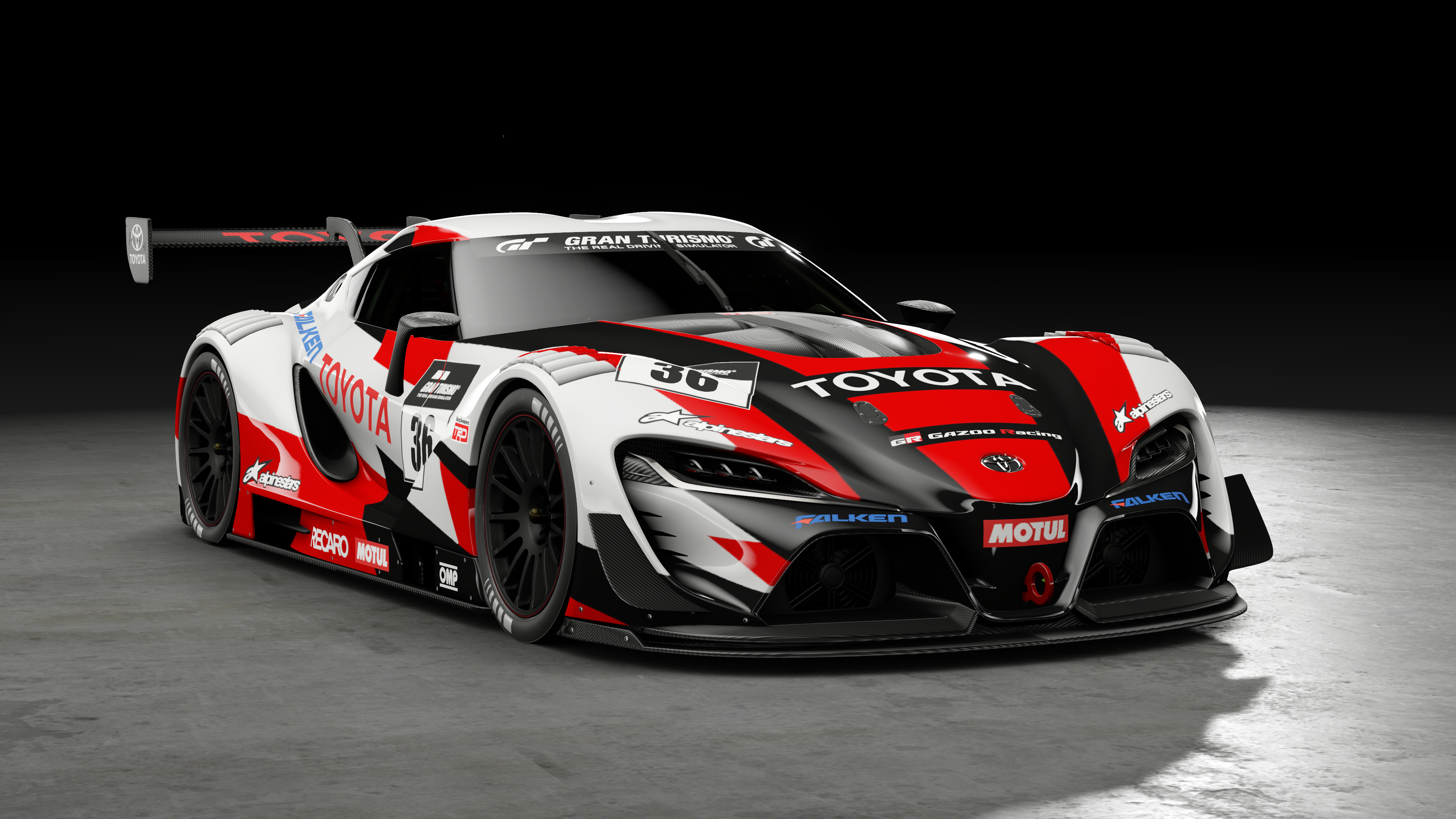 Toyota FT-1 Vision GT Group 3 4k Ultra HD Wallpaper