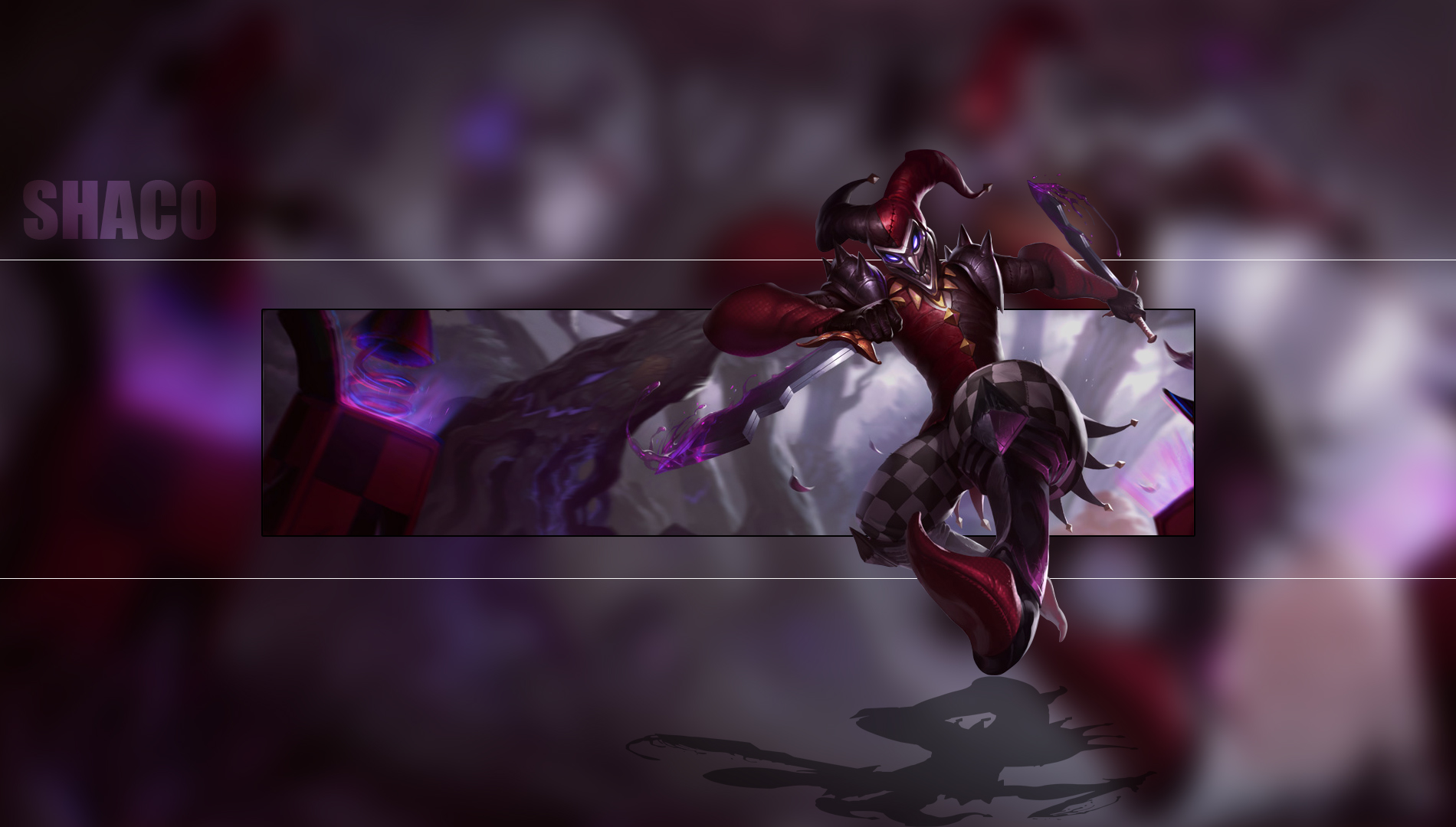 Shaco wallpaper and background image 1900x1080 id702942 video game league of legends shaco league of legends wallpaper voltagebd Gallery