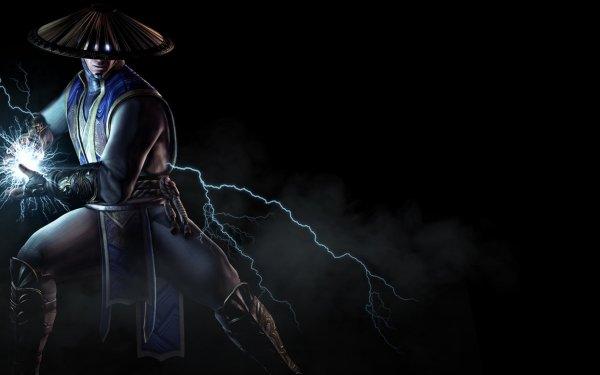 Video Game Mortal Kombat Mortal Kombat X Raiden Hat Glowing Eyes Lightning HD Wallpaper | Background Image