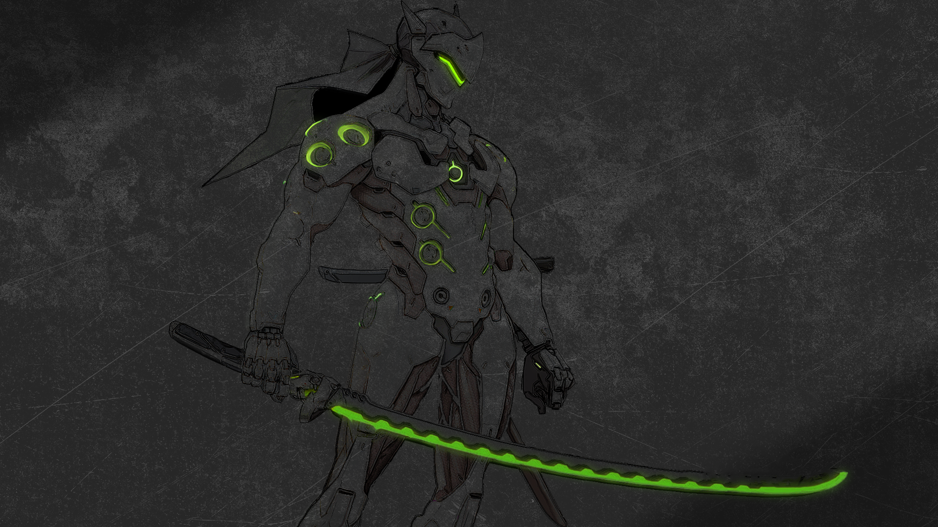 Genji HD Wallpaper
