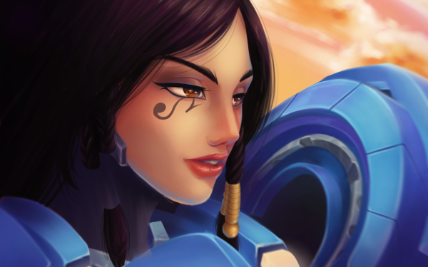 Video Game Overwatch Pharah HD Wallpaper   Background Image
