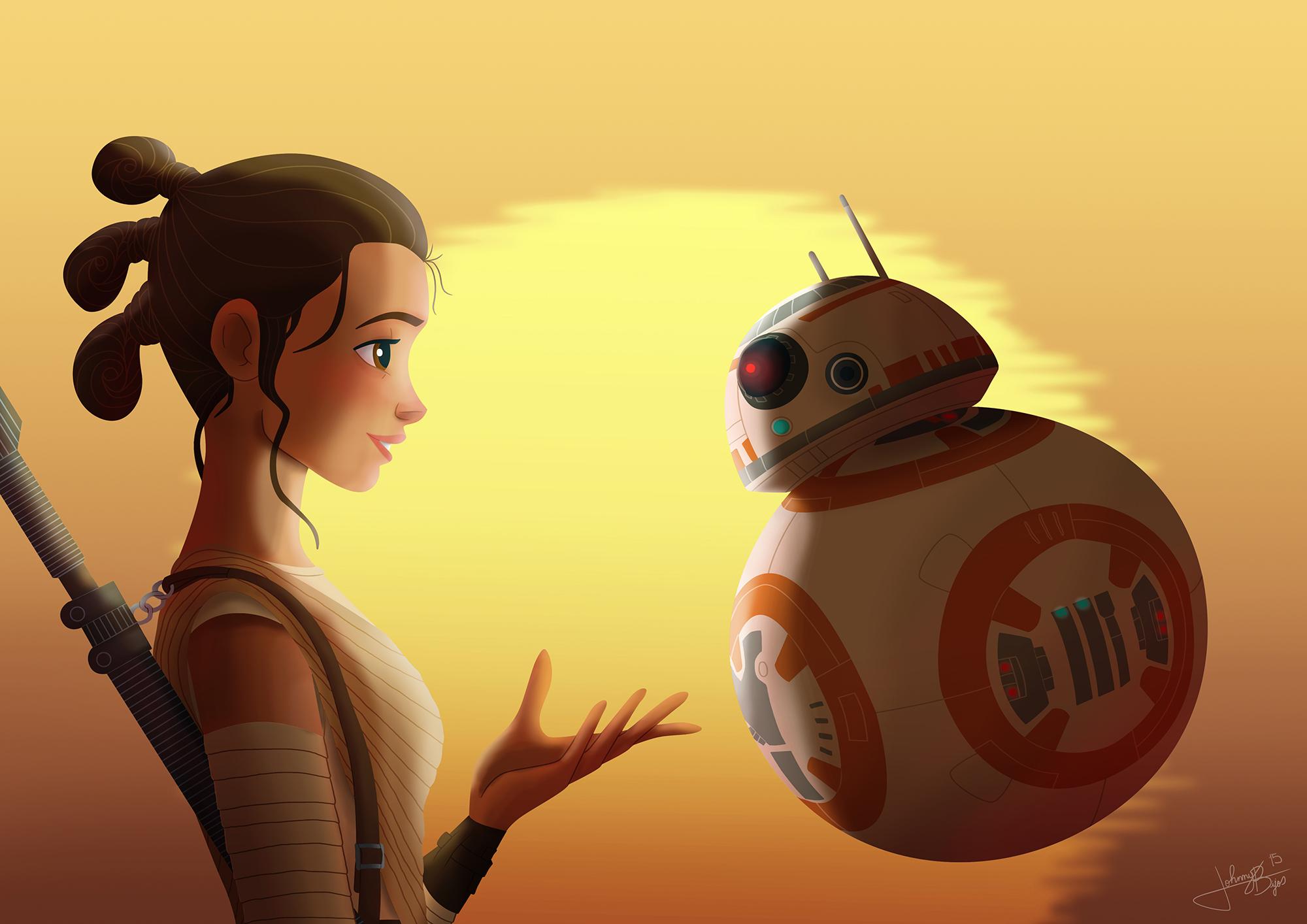 Star Wars Episodio Vii El Despertar De La Fuerza Fondo De