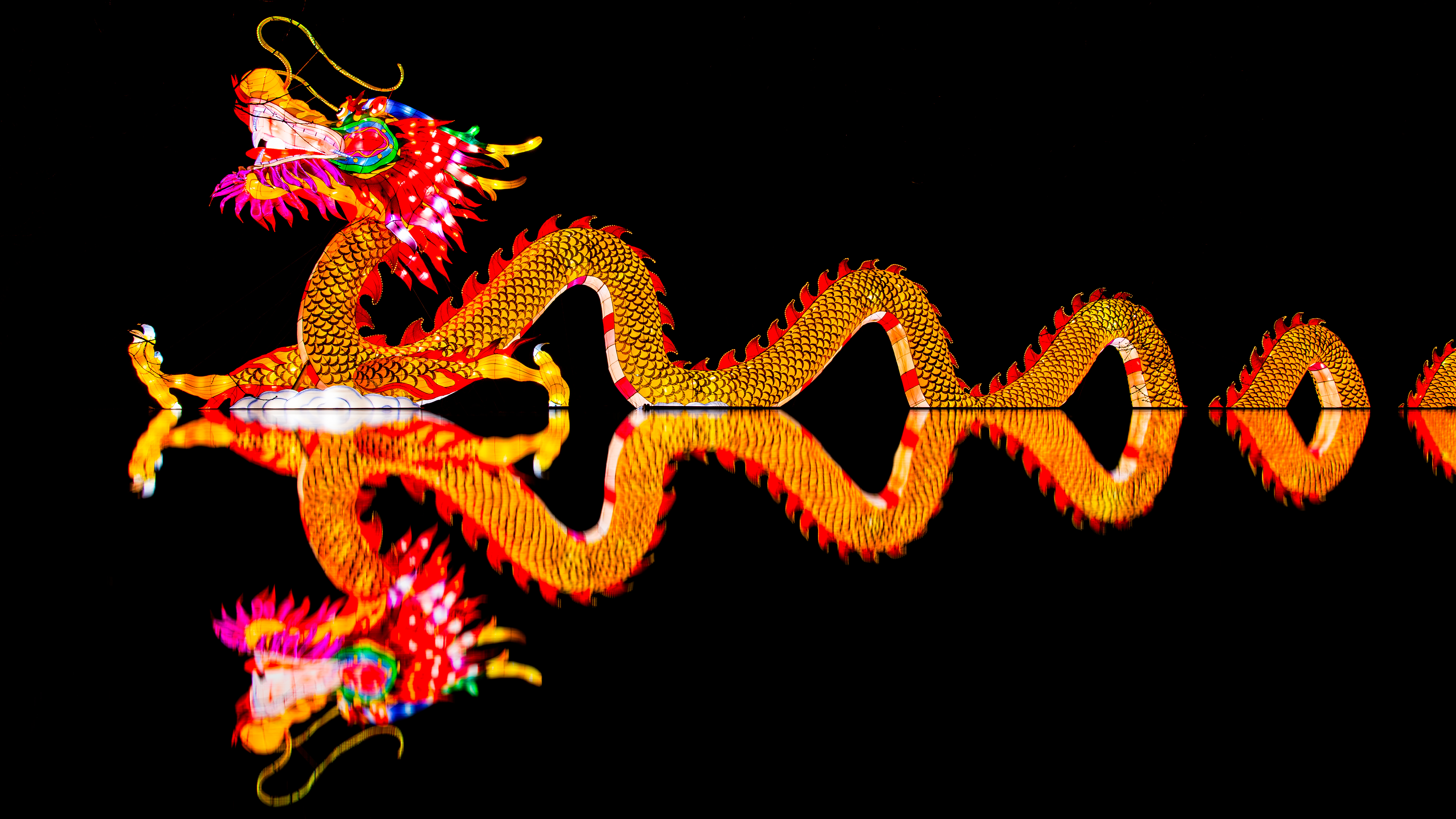 chinese new year 5k retina ultra hd wallpaper and background