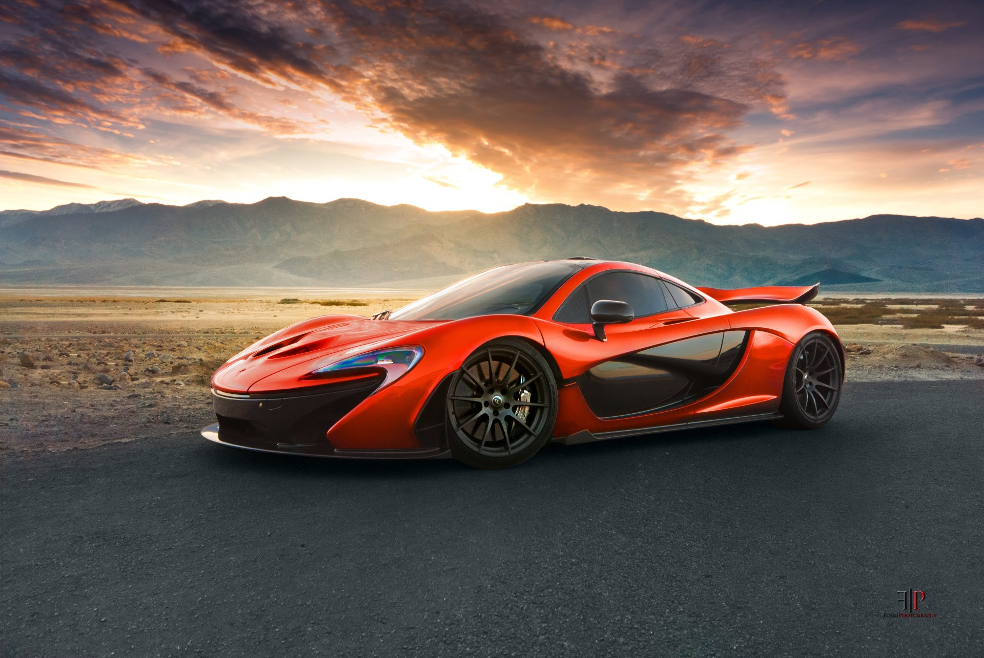 Vehicles - McLaren P1  McLaren Supercar Sport Car Car Vehicle Orange Car Wallpaper