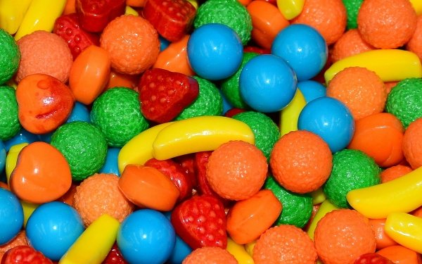 Food Candy Colors Colorful HD Wallpaper   Background Image