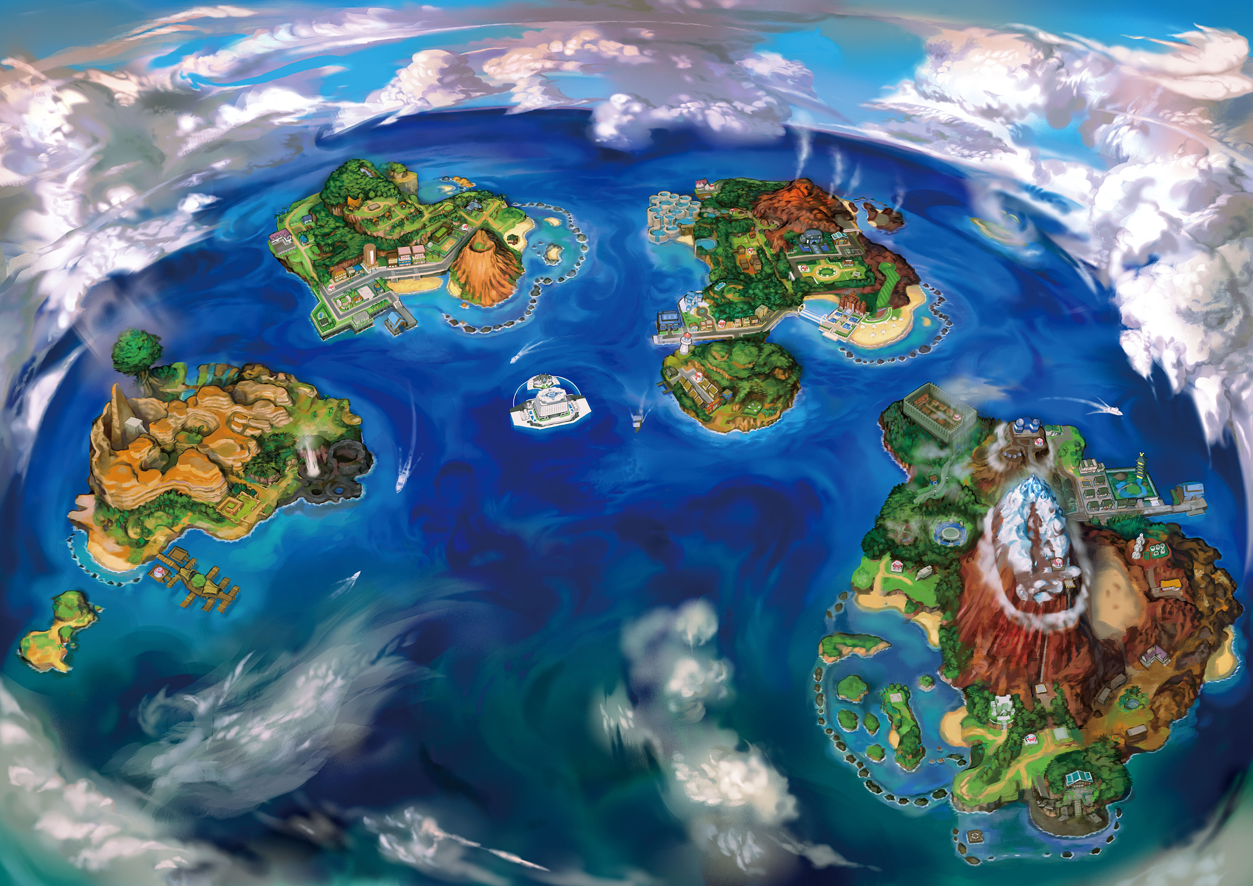 58 Pokemon Sun And Moon Hd Wallpapers Background Images Wallpaper Abyss