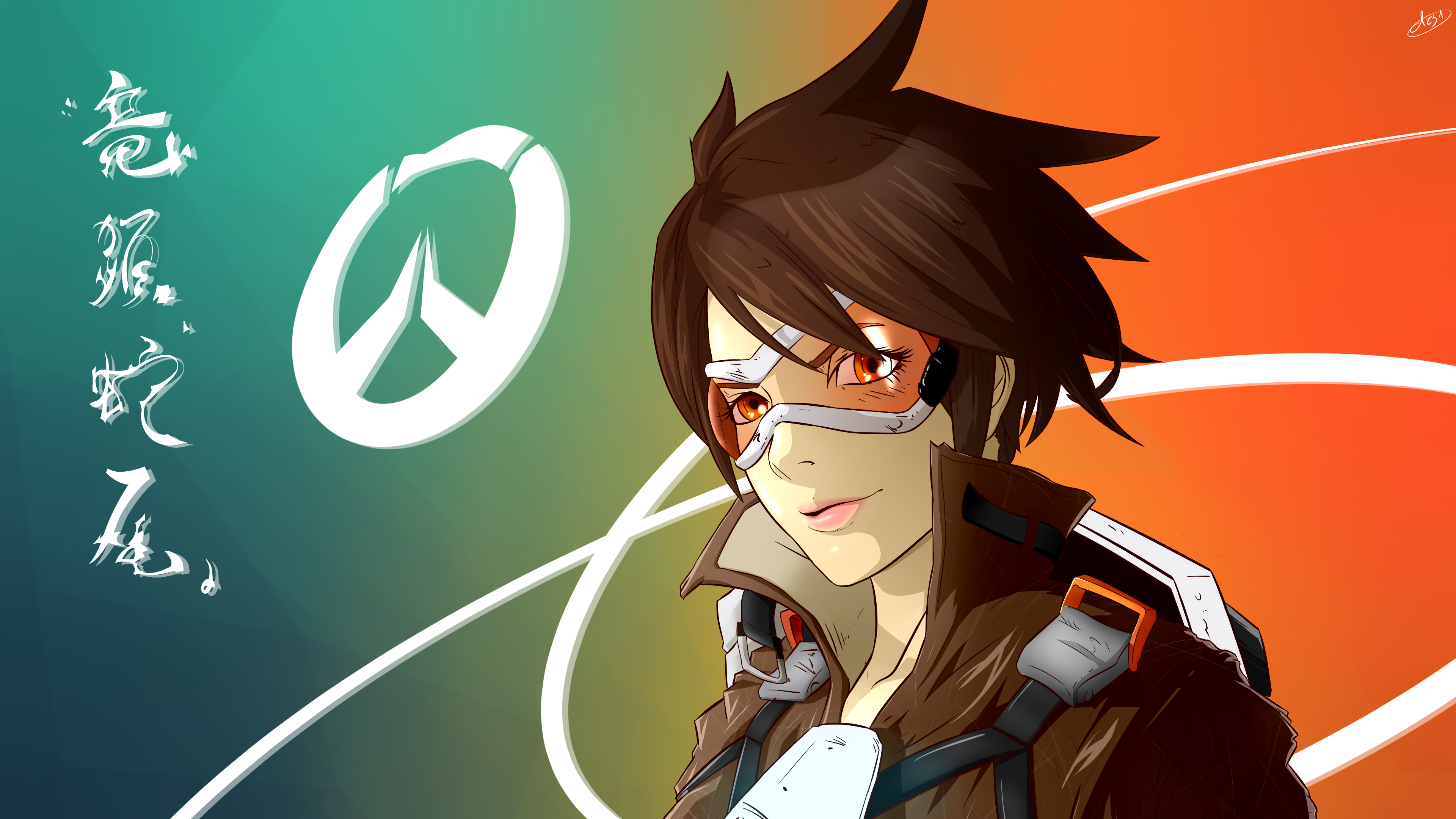 117 4k Ultra Hd Tracer Overwatch Wallpapers Background