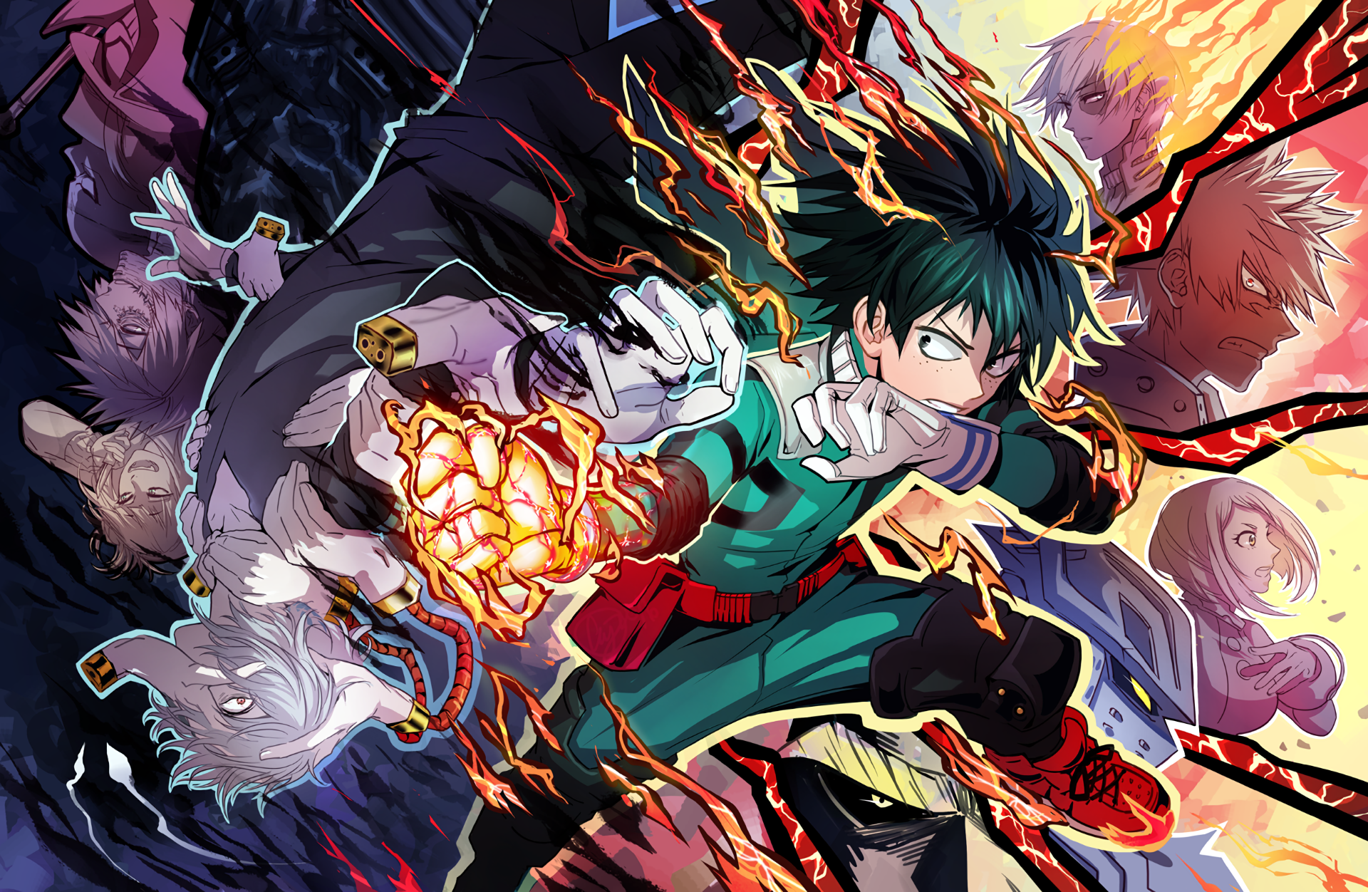2433 My Hero Academia Hd Wallpapers Background Images Wallpaper