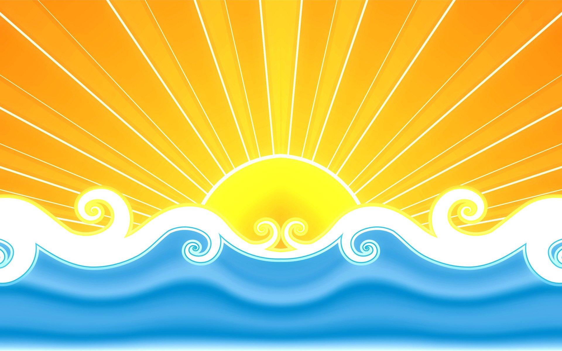summer wallpaper swimming vector - photo #41