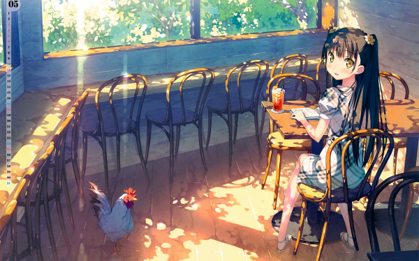 Anime Urbild Original Flicka 5 Nenme no Houkago HD Wallpaper | Background Image
