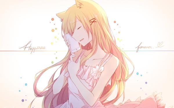 Anime Women Animal Ears Blonde HD Wallpaper   Background Image