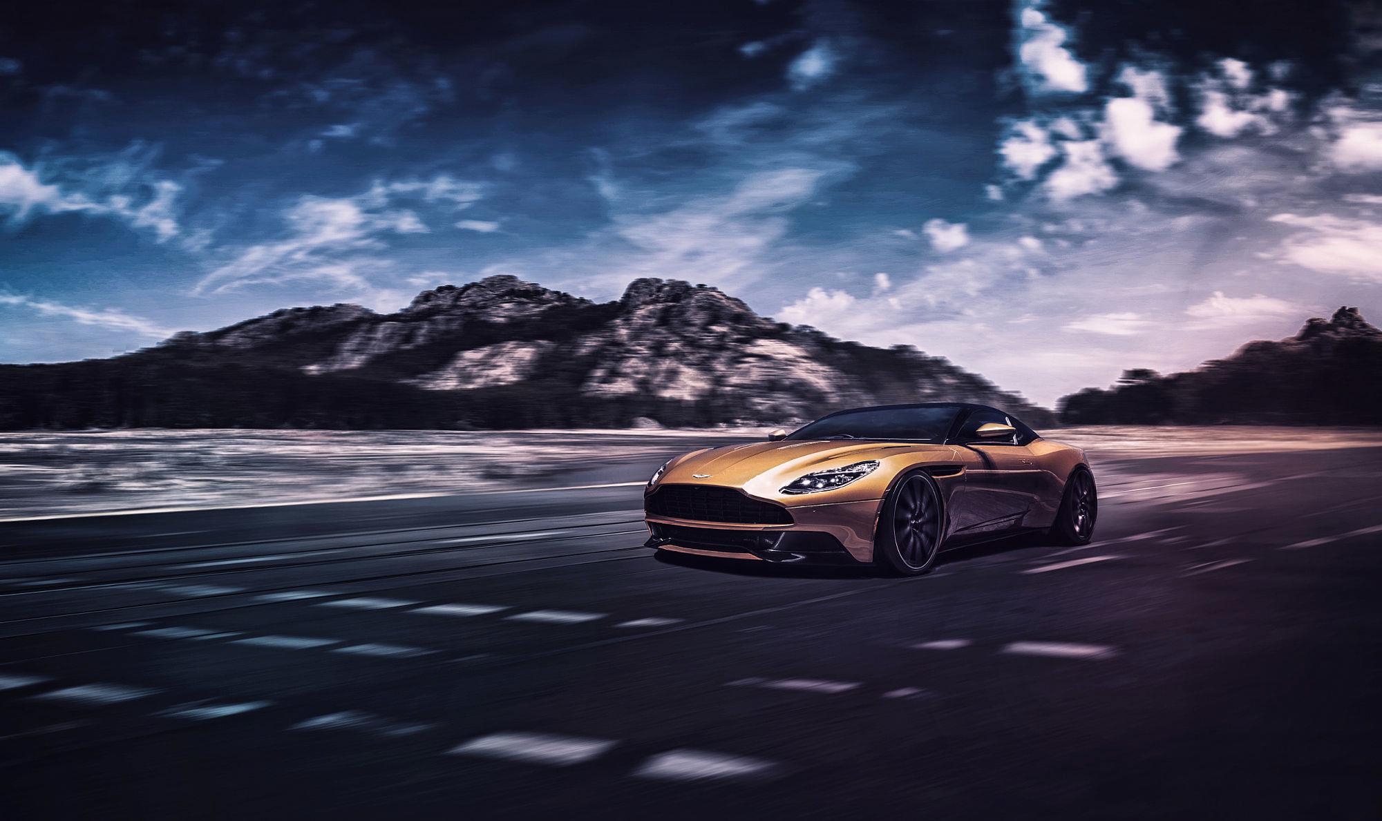 Aston Martin Db11 Hd Wallpaper Background Image 2000x1189 Id