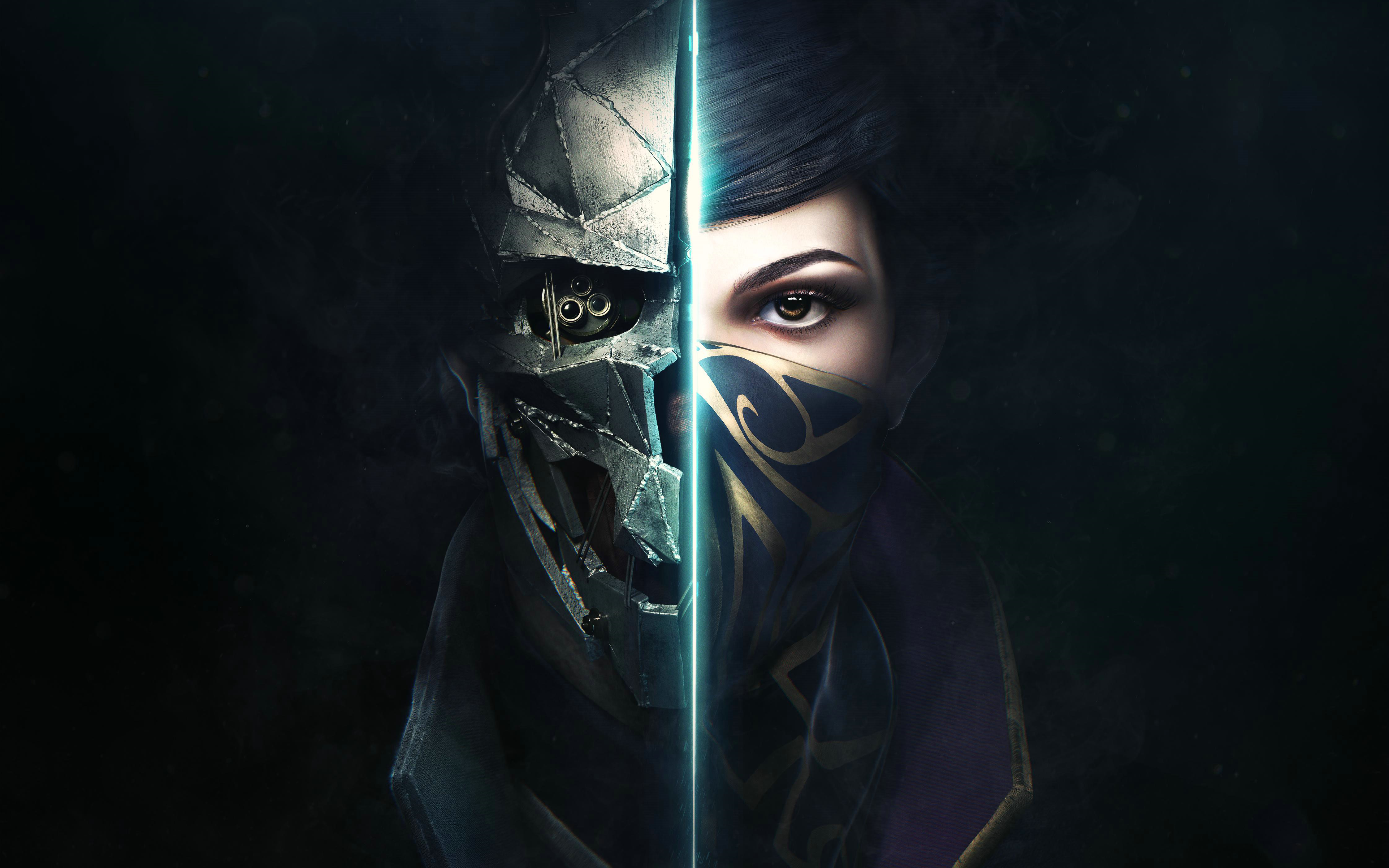 Dishonored Wallpaper 4k: 63 Dishonored 2 HD Wallpapers