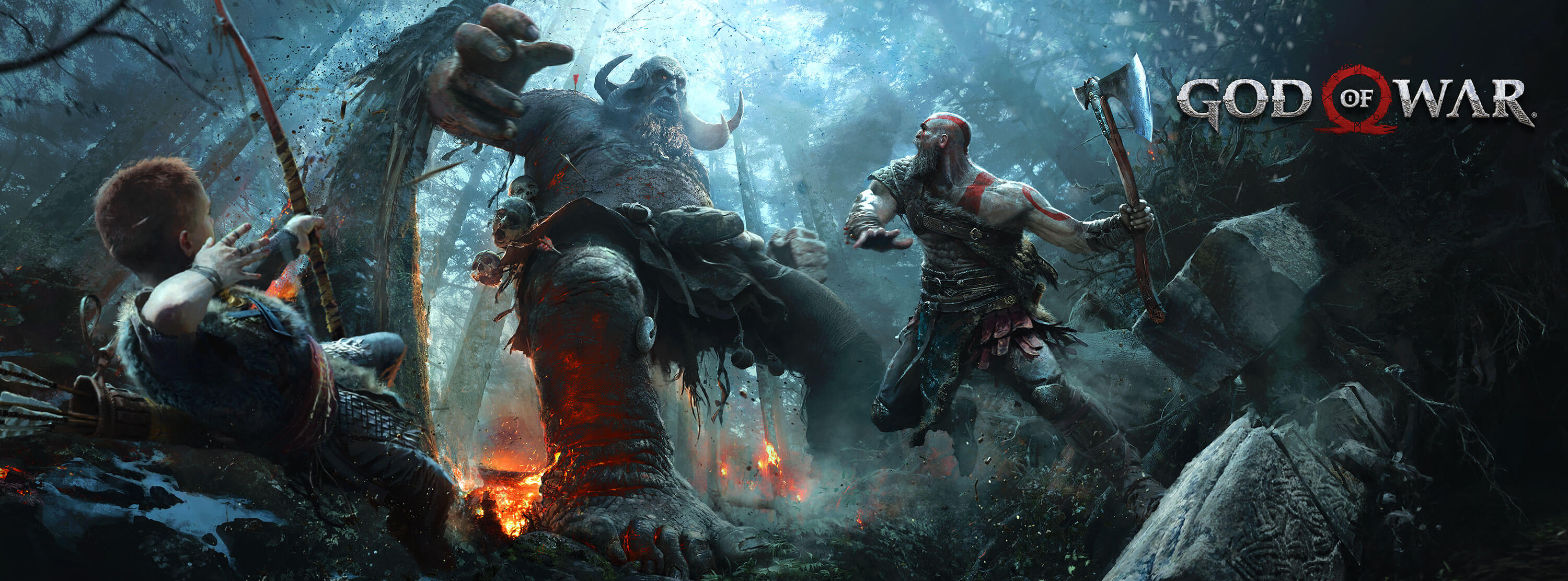 63 god of war (2018) hd wallpapers | background images - wallpaper abyss