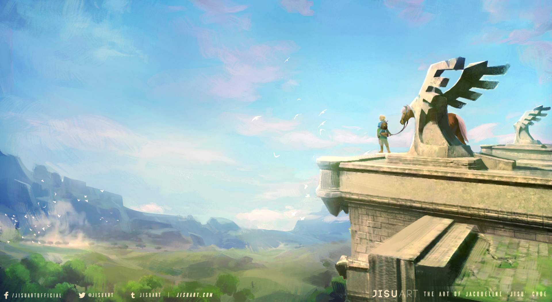 Breath Of The Wild Wallpaper: The Legend Of Zelda: Breath Of The Wild Wallpaper And