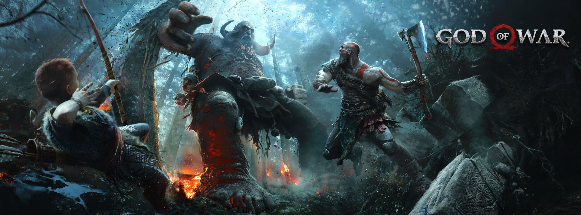 119 God Of War 2018 Hd Wallpapers Background Images