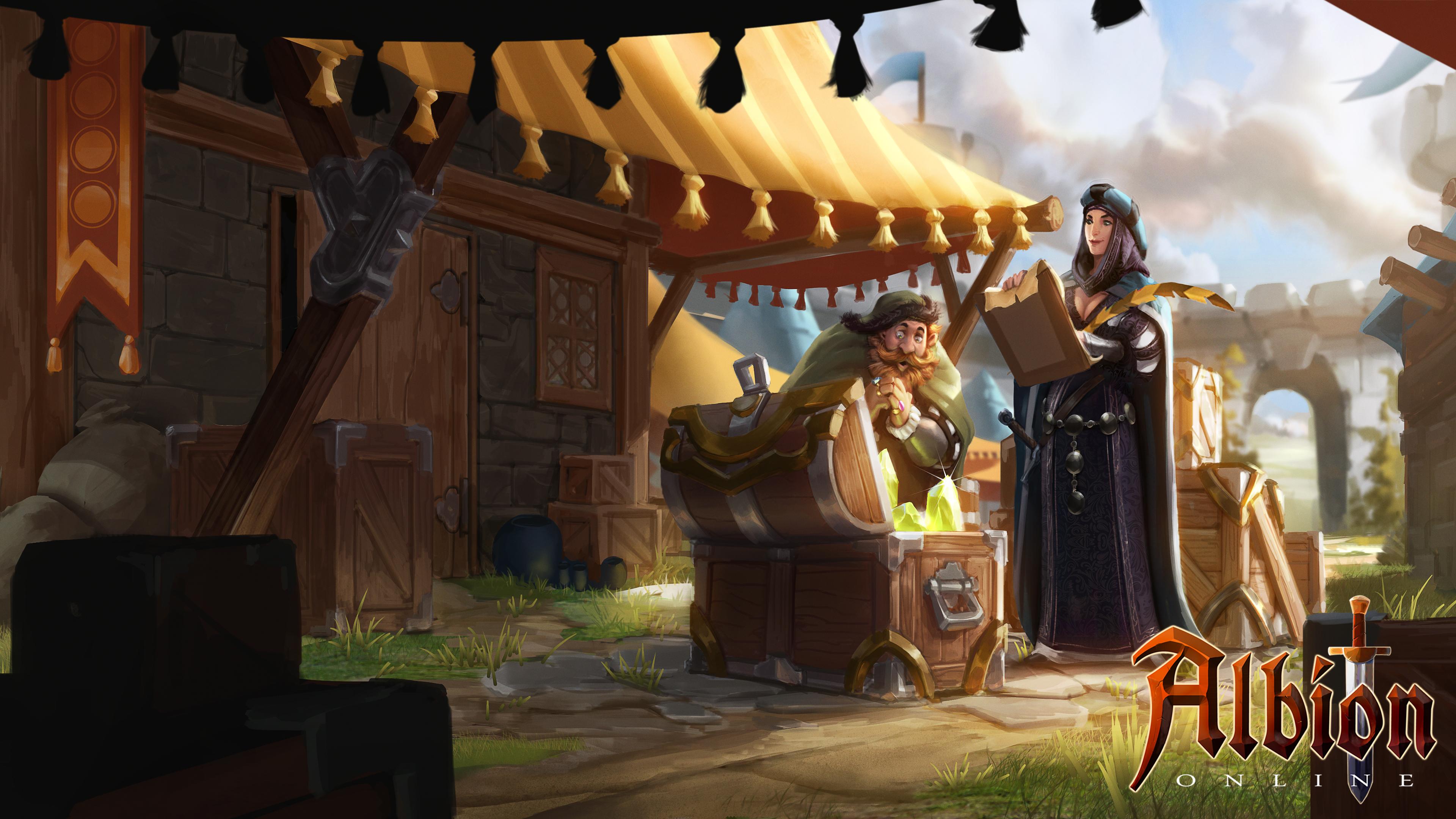 Albion Online Healer Build