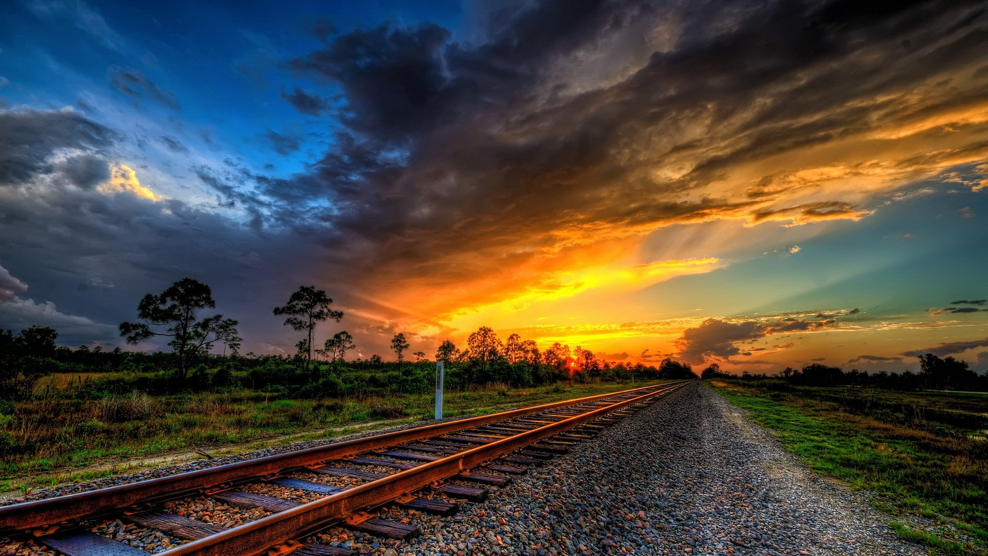 310 Railroad HD Wallpapers | Background Images - Wallpaper Abyss