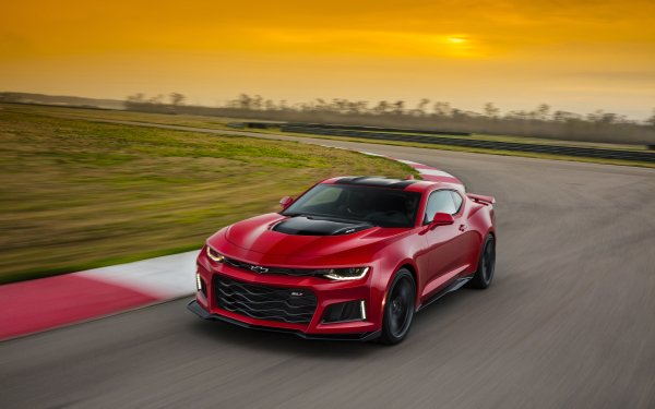 Vehicles Chevrolet Camaro ZL1 Chevrolet Chevrolet Camaro Red Car Muscle Car Car HD Wallpaper | Background Image