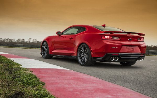 Vehicles Chevrolet Camaro ZL1 Chevrolet Chevrolet Camaro Muscle Car Red Car Car HD Wallpaper | Background Image