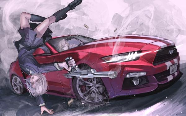 Anime Destro 246 Girl HD Wallpaper | Background Image