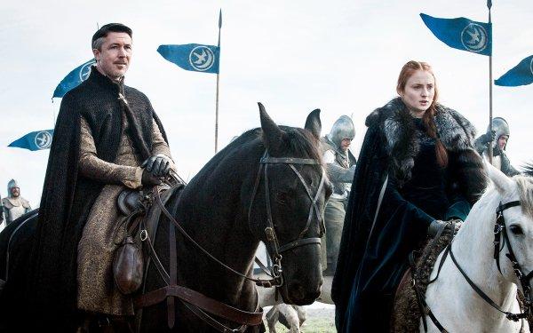 TV Show Game Of Thrones Sansa Stark Sophie Turner Aidan Gillen Petyr Baelish HD Wallpaper | Background Image