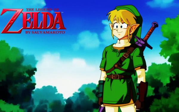 Anime Crossover Link The Legend of Zelda Dragon Ball Z HD Wallpaper | Background Image