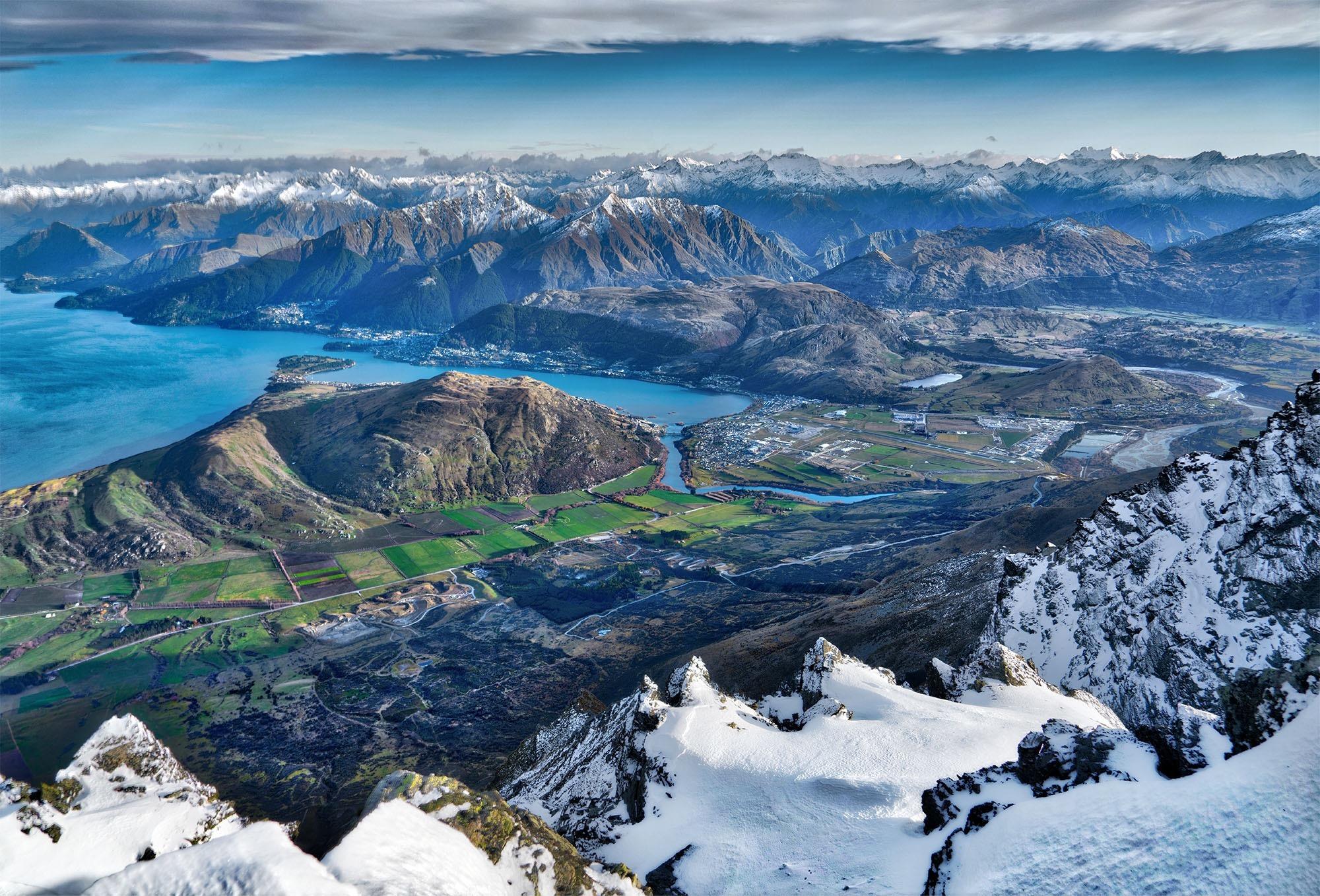 Nueva Zelanda Hd: From Above Fondo De Pantalla HD
