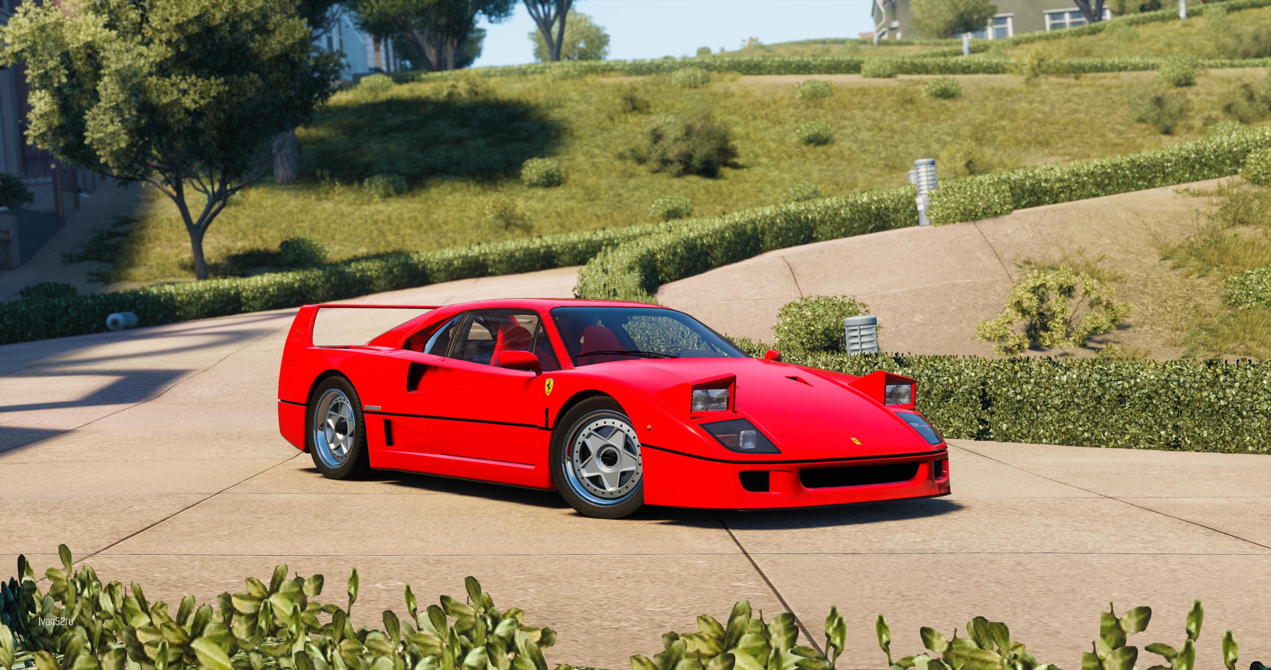 Ferrari F40 4k Ultra HD Wallpaper