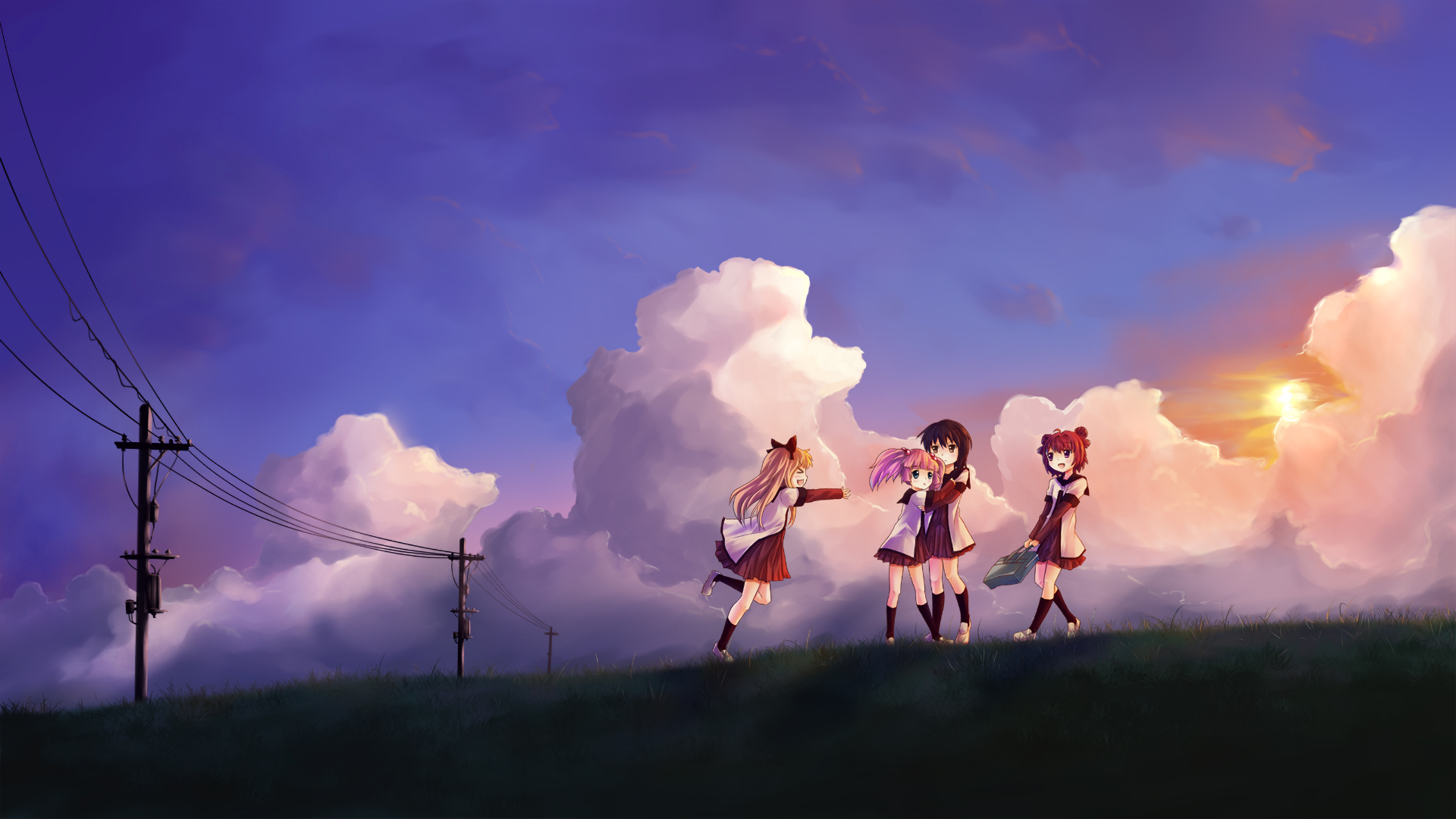 Yuru Yuri Full HD Wallpaper And Background Image