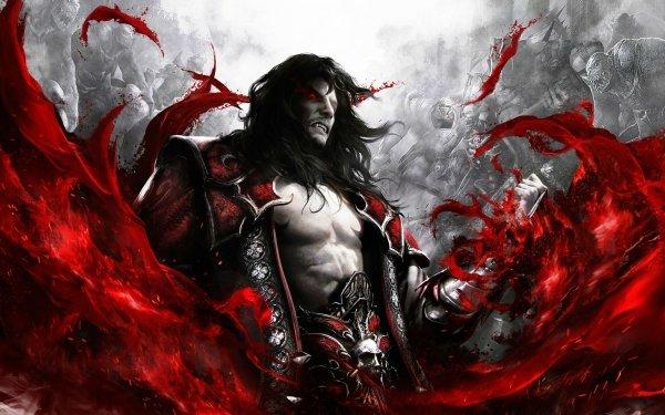 Video Game Castlevania: Lords Of Shadow 2 Castlevania Dark Warrior Demon Blood HD Wallpaper   Background Image