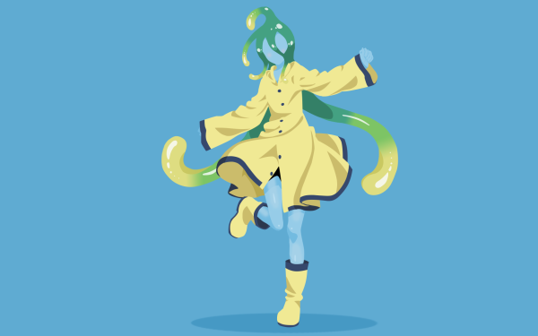 Anime Monster Musume Suu Everyday Life with Monster Girls Minimalist Green Hair Boots HD Wallpaper | Background Image