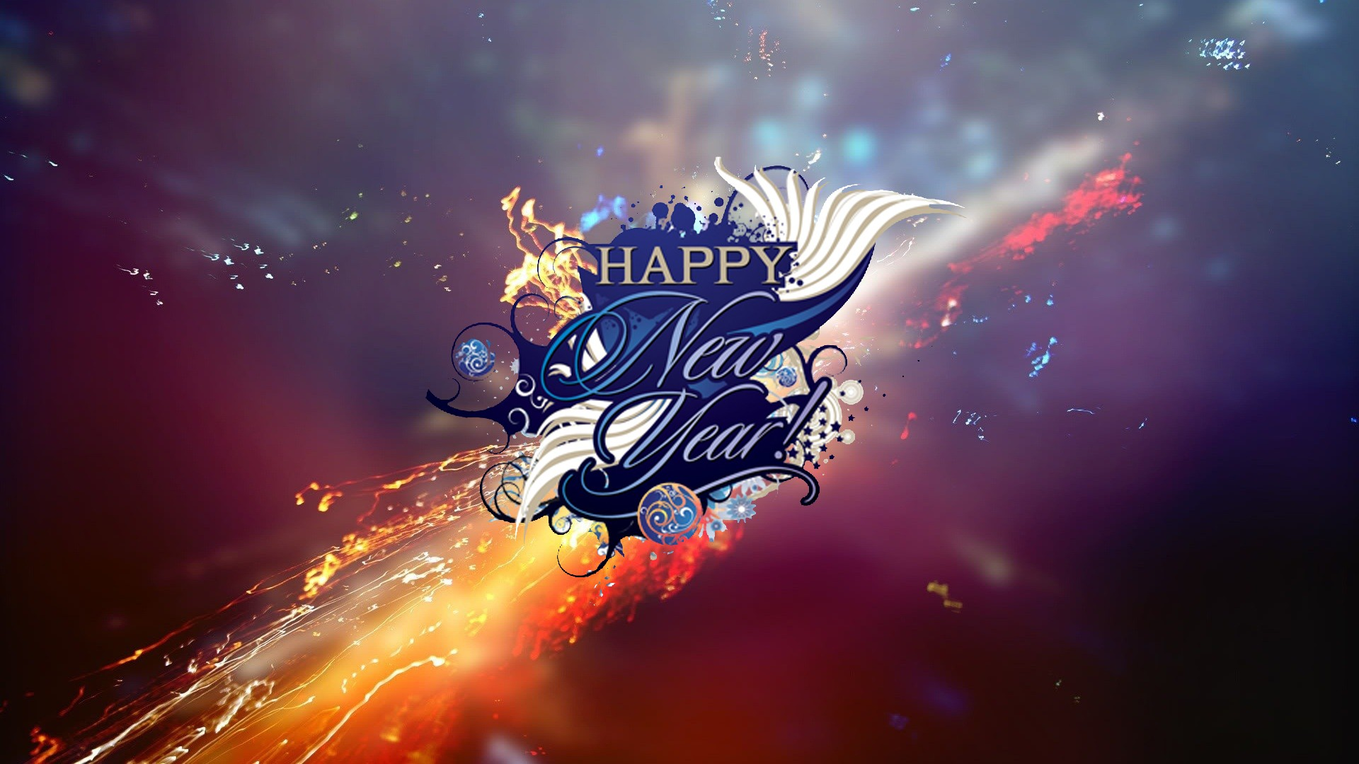 New Year HD Wallpaper   Background Image   1920x1080   ID ...