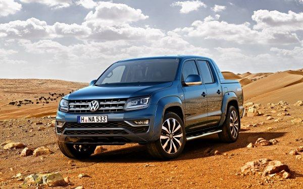 Vehicles Volkswagen Amarok Volkswagen Car Blue Car HD Wallpaper | Background Image