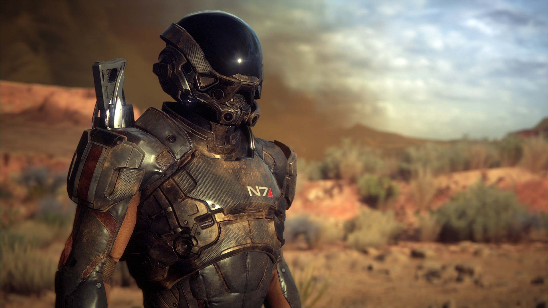 Mass Effect Andromeda Wallpaper: Mass Effect: Andromeda HD Wallpaper