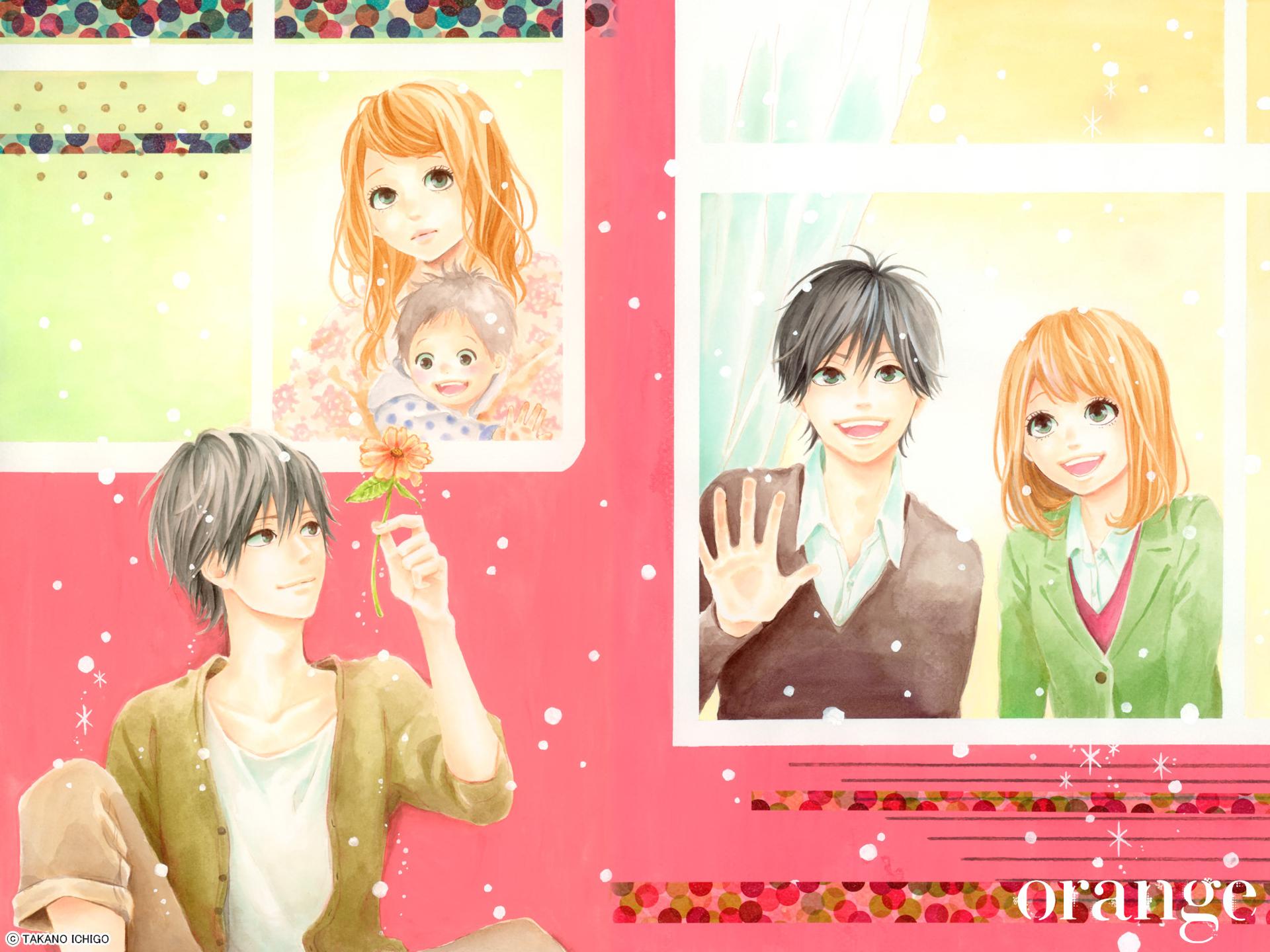 Anime - Orange  Naho Takamiya Kakeru Naruse Fondo de Pantalla