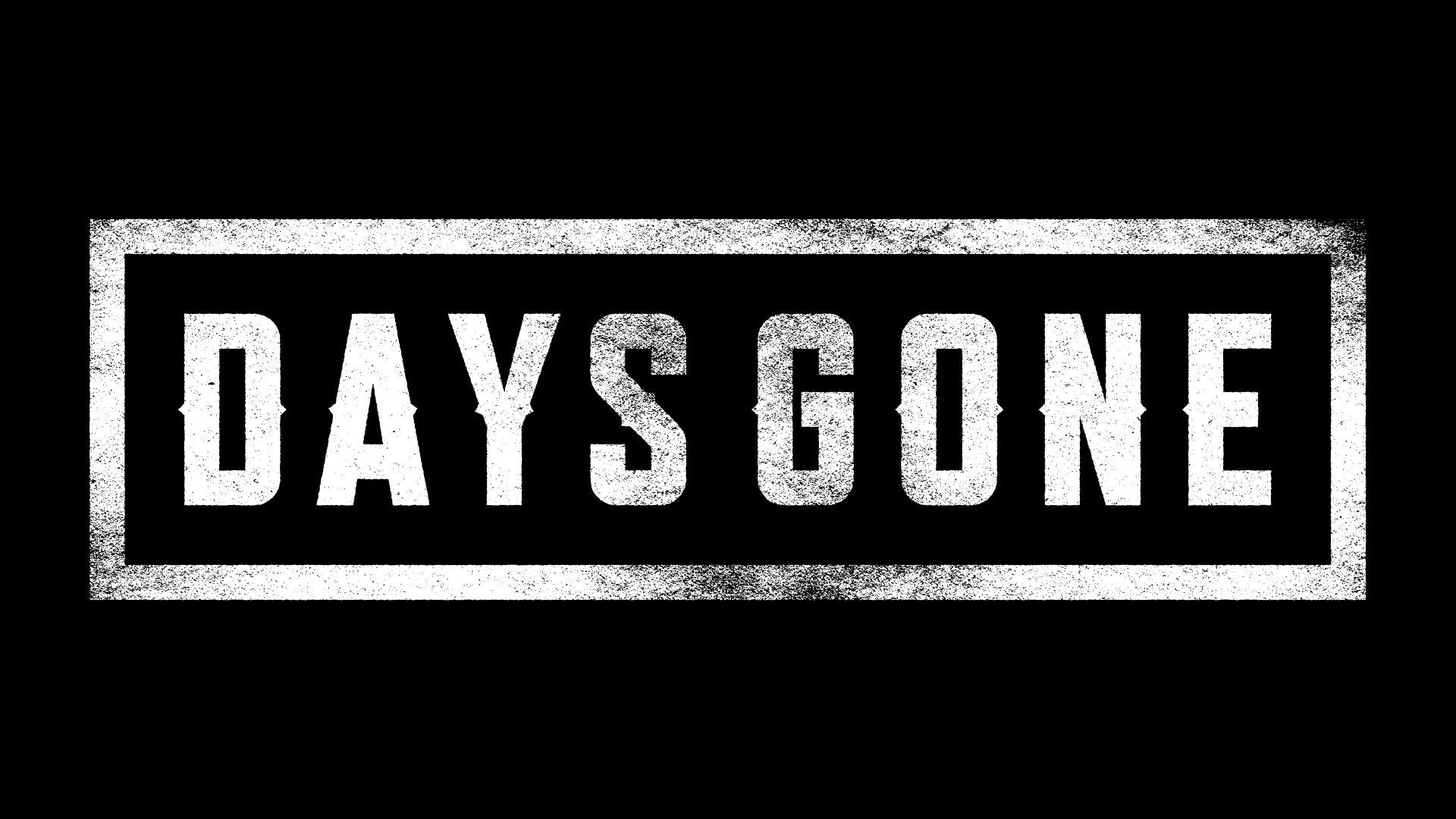Video Game - Days Gone Logo Wallpaper