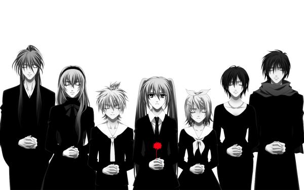 Anime Vocaloid Hatsune Miku Luka Megurine Len Kagamine Rin Kagamine Kaito Kamui Gakupo Meiko HD Wallpaper | Background Image