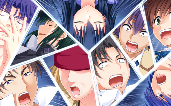 Anime Angel Beats! Hinata Hideki Fujimaki Noda Ayato Naoi Matsushita Ooyama Shiina Takamatsu TK HD Wallpaper | Background Image
