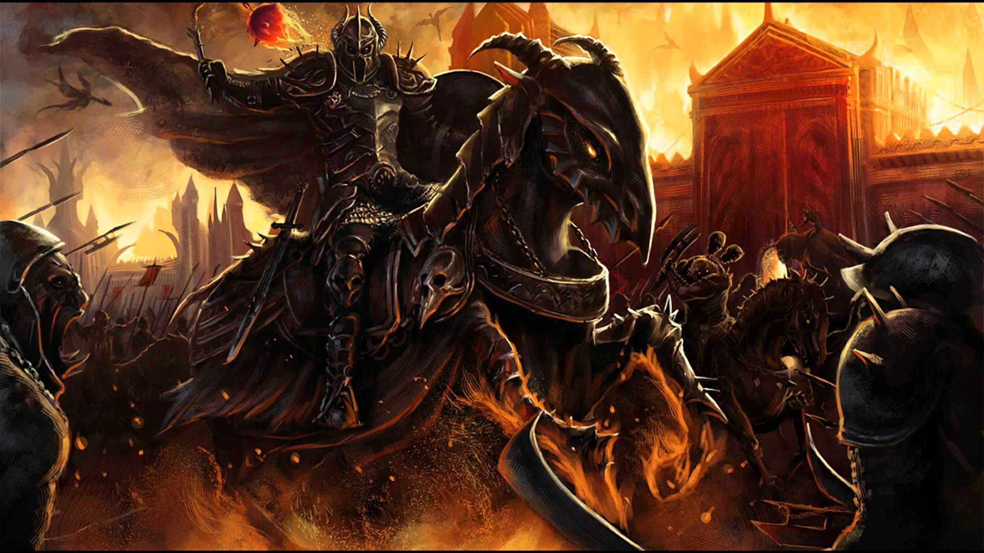 War In Hell Hd Wallpaper Background Image 1920x1080 Id