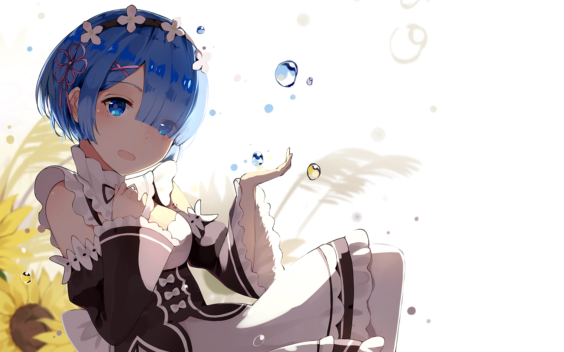Rem full hd wallpaper and background 1920x1200 id 718511 for Re zero wallpaper