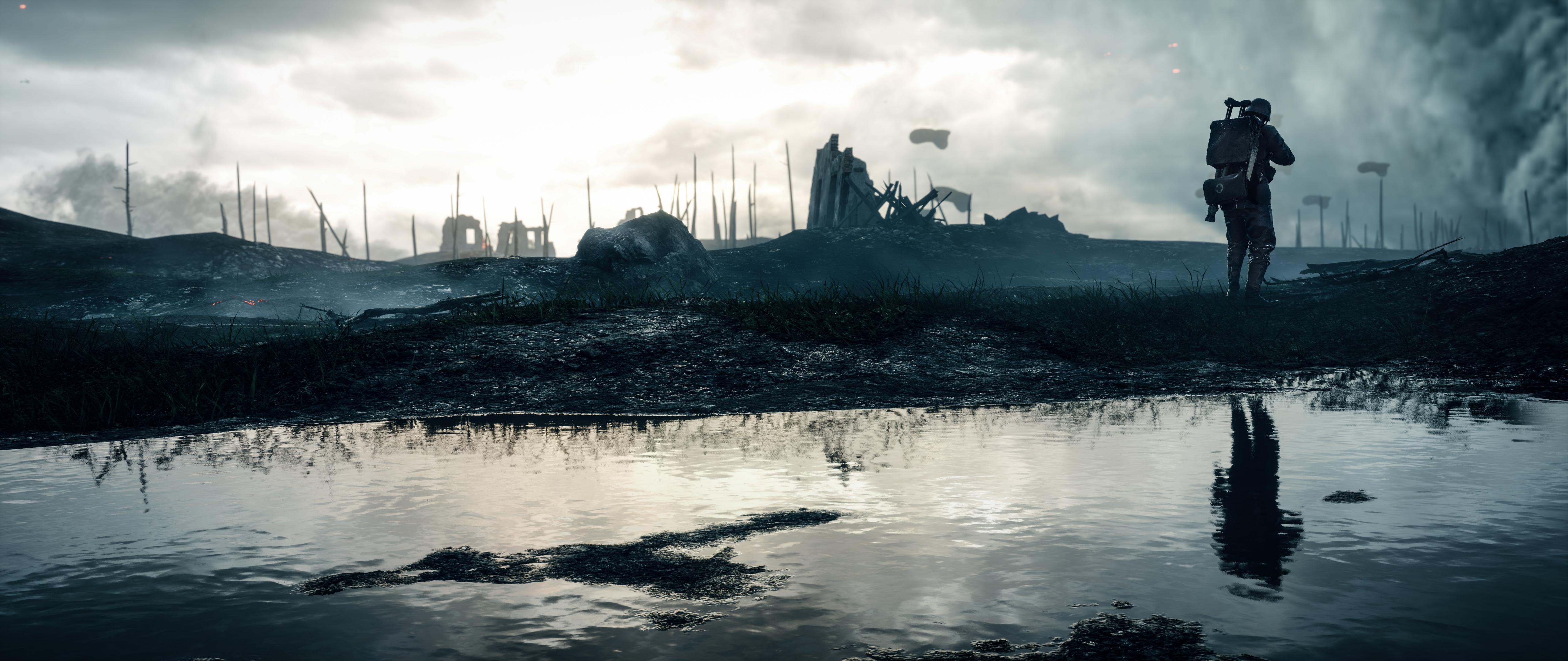 Battlefield 1 War Video Game Hd Wallpaper: Battlefield 1 4k Ultra HD Wallpaper