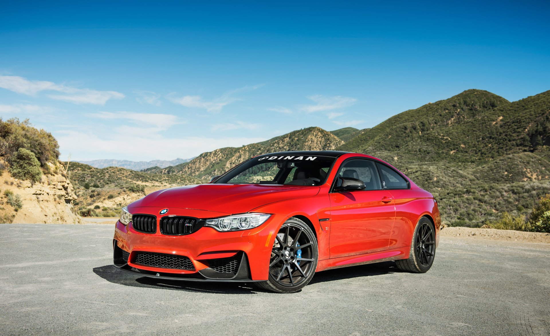 Vehicles - BMW M4  BMW Red Car Car Vehicle Grand Tourer Wallpaper