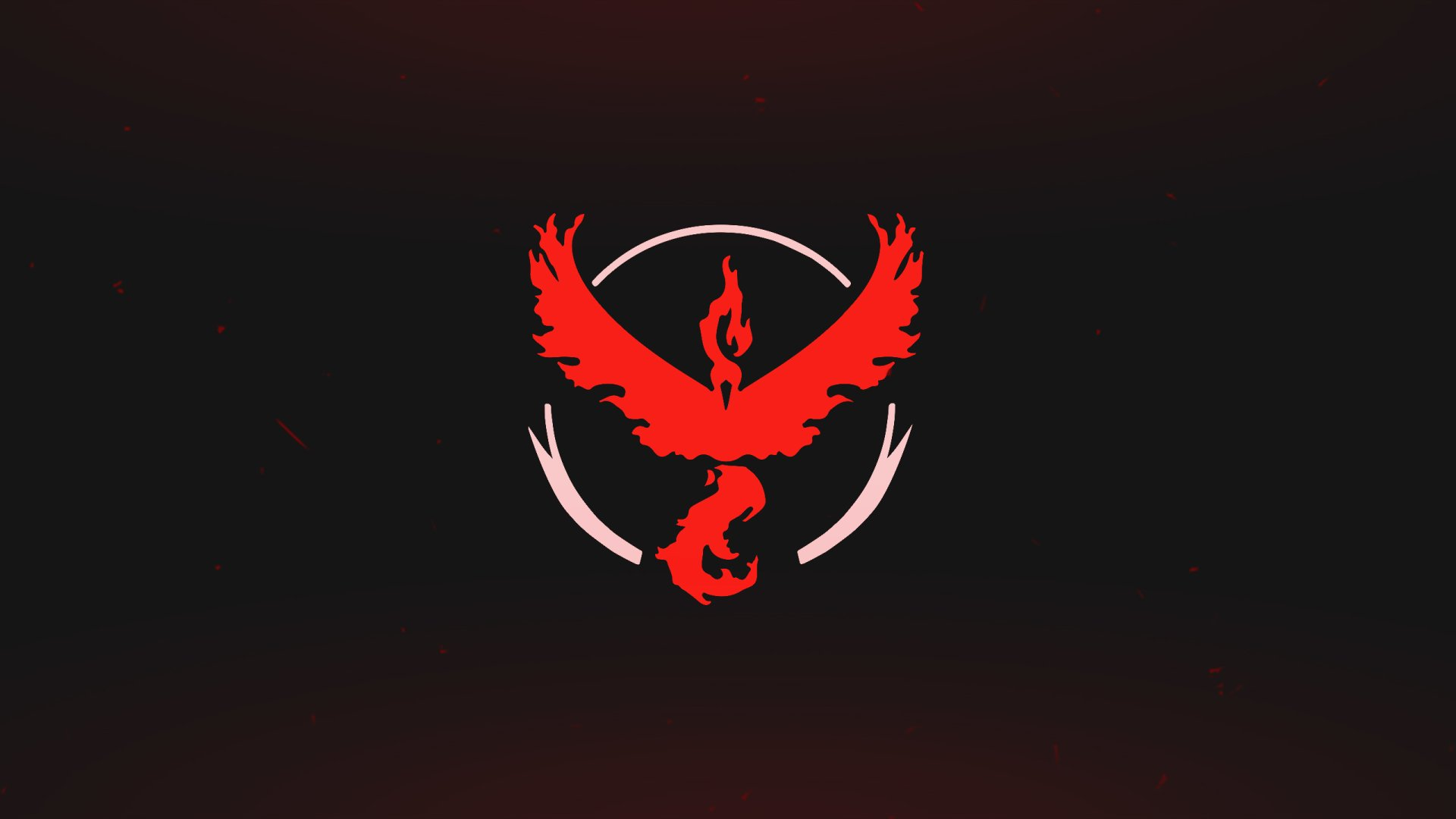 Video Game - Pokémon GO  Video Game Moltres (Pokémon) Pokémon Pokemon Go Team Valor Red Wallpaper